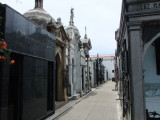 The Recoleta Cemetery where Eva Peron is buried