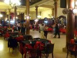 Locals dancing the Argentine Tango at a milonga in Buenos Aires