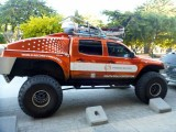 In Punta Arenas, a bio-fueled vehicle set to try to reach the South Pole