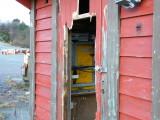 Knust avlaast el-rom - Rongesundkaia- Fremdeles ikke lukket av Øygarden Kommunen-Forslumming