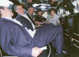 Inside the Limo with Tony  friends and Tony's Wife Irene who has since died