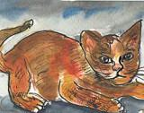 ACEOGinger Cat