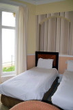 Grand Hotels Bedroom overlooking The Beach