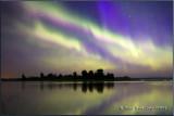 Aurora's July 17 Isle lake