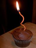 B'Day Cupcake
