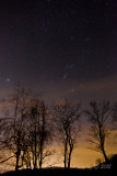 Orion in Spring sky