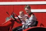 Jenny's First Tractor Ride