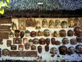 Collectible Balinese Masks