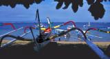 Prahu Beached at Sanur