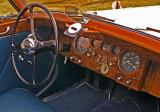 Classic Jaguar Sedan Interior