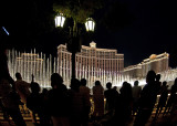 Sidewalk Crowd at the Bellagio