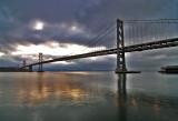 Oakland Bay Bridge from SF