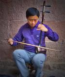 Blind Erhu player