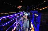 Fenghuang back street market at night
