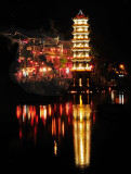Pagoda in Fenghuang Night