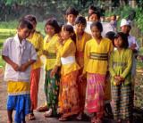 Children on the Monkey Trail
