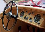 Dash & Wheel: 1955 Jaguar XK-140M OTS