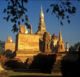 Remaining Stupas at Sukothai