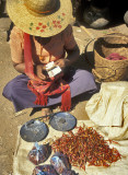 Chili Seller with Scales