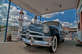 '50 Ford at Pete's Gas Station Museum