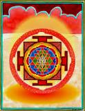 b 11 Red Shri Yantra