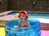 Pegando uma piscina