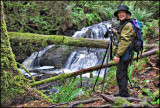 Jon DeArman, Sue Photographs the Falls