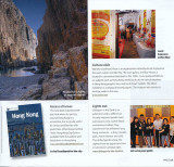 Wheelaway Travel book in The Club Magazine