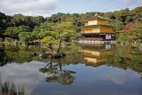Kinkakuji Temple - Golden pavilion