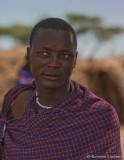 Handsome  young Masai Man