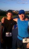 Rick and Danny at the Christina 5K 2011.jpg