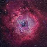 The Tunnel Of Fire - Rosette Nebula NG Image of the Month