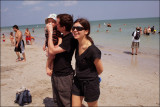 Roma, Anya and Ilya, visiting
