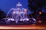 Blue Sunset Fountain