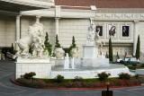 Grand Entrance ~ Caesar's Statuesque Driveway