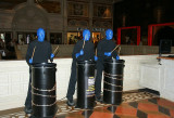 Madame Tussaud's Blue Men