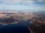 Flying Over Lake Mead