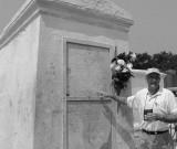Tomb of Marie Laveau - Voodoo Queen.