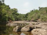 Following the creek to Tad Xai Falls