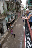 View from our Old Havana B&B