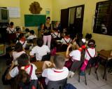 Children actually in class