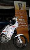 Moto Sergio Petrone- Ezeiza Dakar 2012