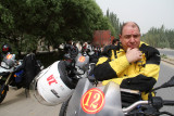 Nolan Helmets & Emilio Scotto traveling in China