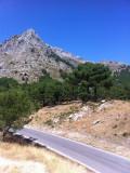 Driving in the Sierra de Grazalema