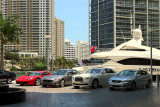 Luxury cars at Epic Hotel, Miami