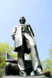 Standing Lincoln by  Augustus Saint-Gaudens, Lincoln Park, Chicago
