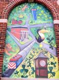 Mural, Downtown Barrington, Illinois