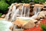 Waterfalls at The Cove, Lake Geneva