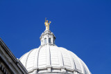 Wisconsin on top of the Capitol in Madison