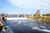 3rd Ave. Bridge, Minneapolis with St. Anthony Falls